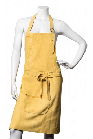 DeLuxe Leather Apron Yellow